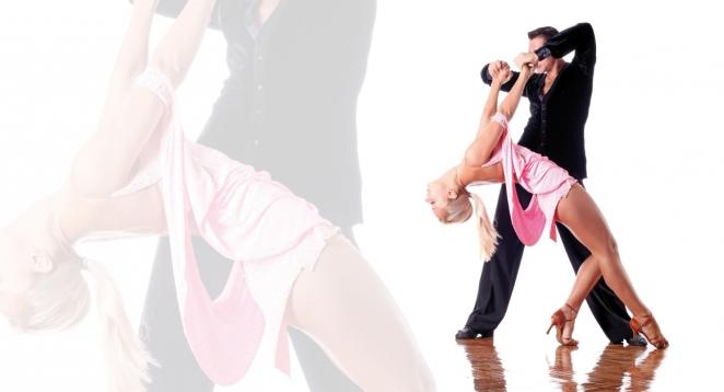 latino americano coppia ballerini