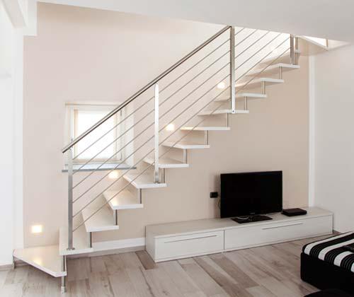 caratteristiche delle scale a giorno