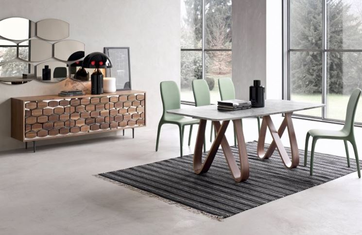 tavolo rotondo allungabile moderno