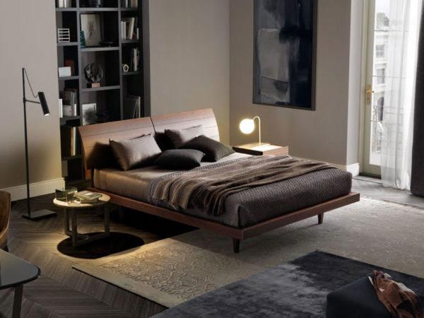 arredamento di una camera da letto moderna