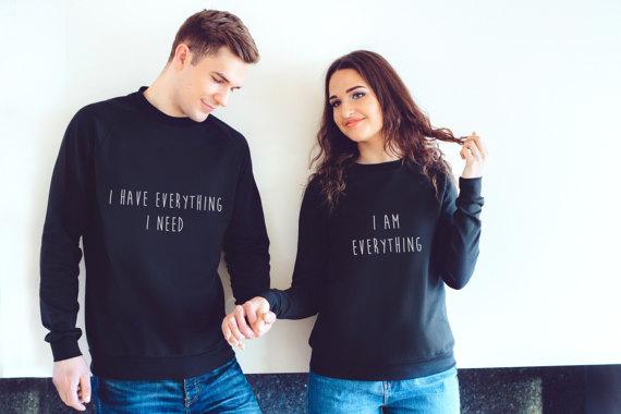 felpe coordinate per fidanzati